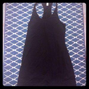 Black American Apparel Halter Dress